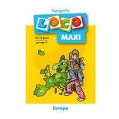 Loco Maxi - Boekje - Topografie Europa - 11/12 Jaar - Groep 7