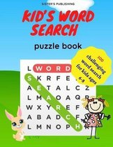 Kid's Word Search Puzzle Book