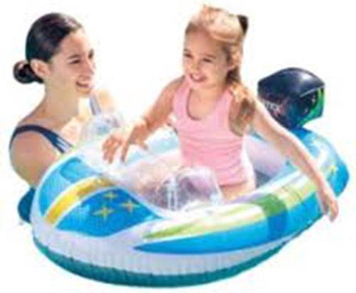 Intex pool bootje - Pool cruiser - Zwembad- Bootje - Childeren fun - waterpret - Opblaas - Zwemband