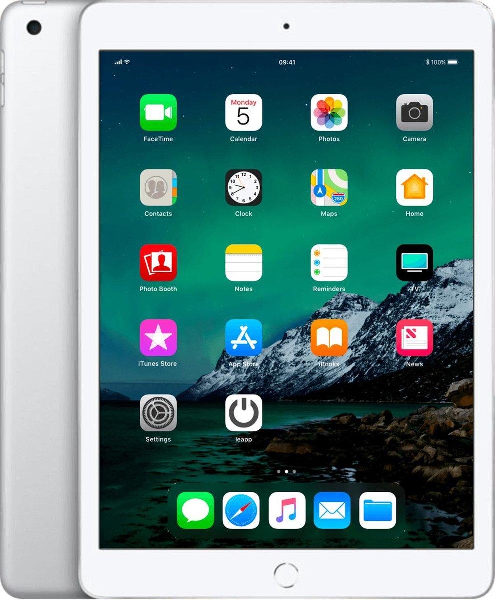 Apple iPad 2019 - 128GB - Wi-Fi + 4G - Zilver - A-grade