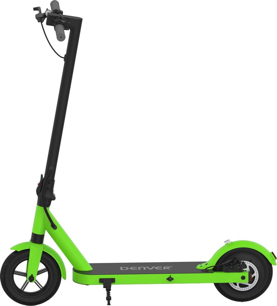 """Denver SEL-85350F Elektrische step voor kinderen & volwassenen 8.5"""""""" Wielen 25 km/u E-Step met aluminium frame actieradius 18KM Inklapbaar Met LED verlichting voor & achter E-Scooter Groen online kopen"""