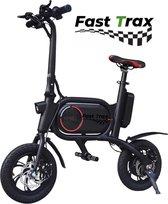 EasyGO B3 Elektrische fiets, Elektrische step met zadel voor volwassenen. Snel opvouwbaar, 350 watt motor, Max. Snelheid 20 km/u, Cruise control met 12'' Inch Luchtbanden