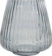 Point-Virgule - Vaas - Glas - Blauw - Ø 17.7cm H 18cm