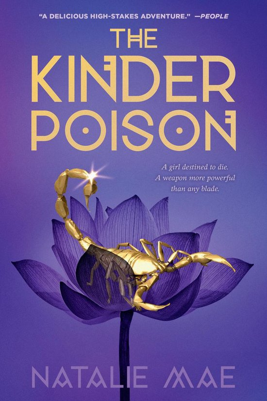 Boek cover The Kinder Poison van Natalie Mae (Paperback)