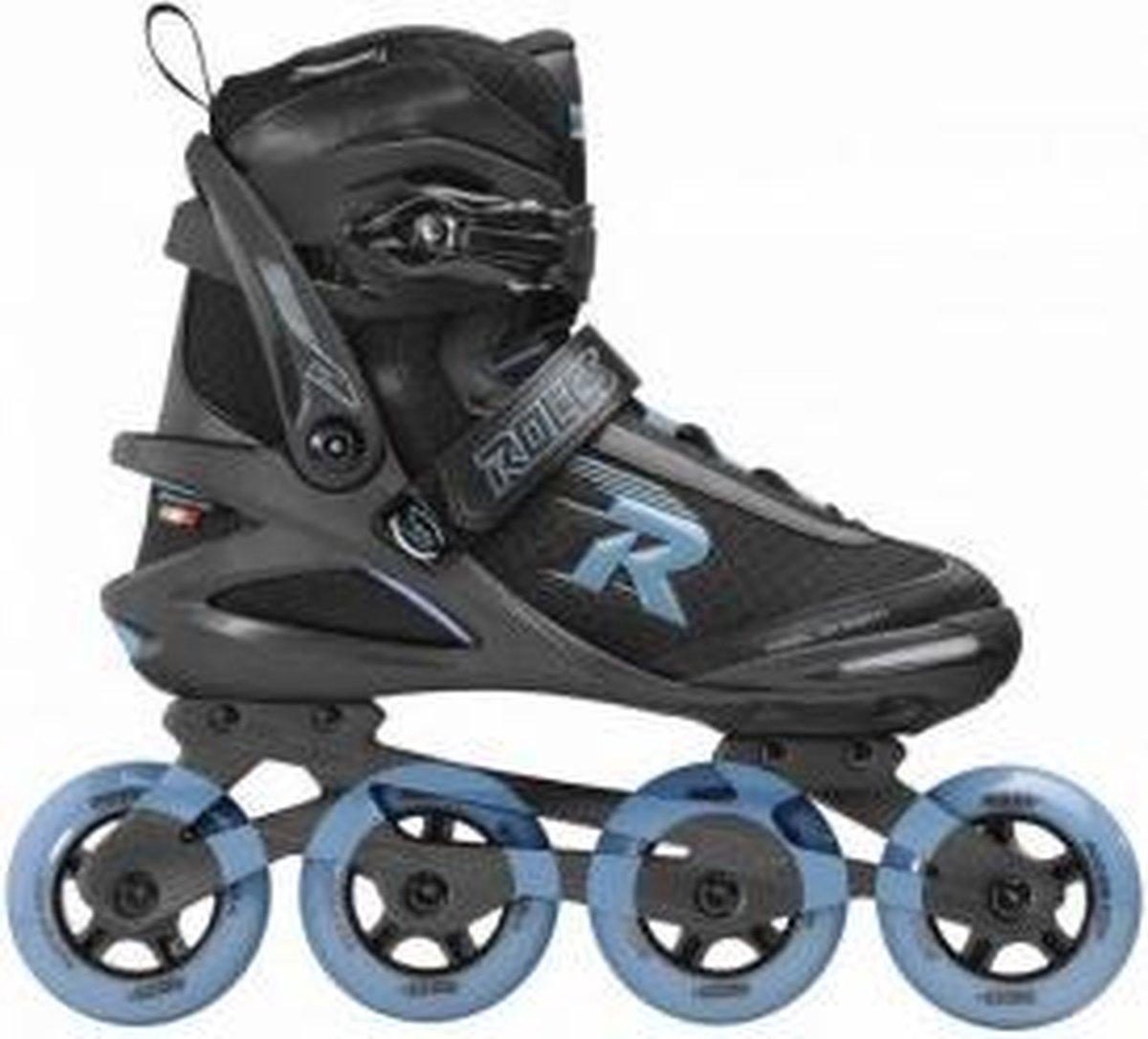 Roces Skates Pic Tif 80 Heren Maat 45 Zwart-Blauw