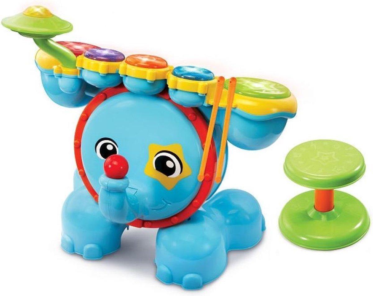 VTech - Baby Rock & Leer Drumstel - Educatief Babyspeelgoed - 1,5 tot 4 jaar