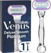 Gillette Venus Deluxe Smooth Platinum Scheersysteem Voor Vrouwen - Scheermes