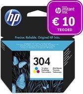 HP 304 - Inktcartridge kleur + Instant Ink tegoed