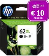 HP 62XL - Inktcartridge zwart + Instant Ink tegoed