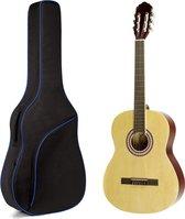 Gitaartas voor klassieke of Spaanse gitaar 8 mm voering Gitaarhoes - 39 inch
