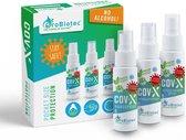 ProBiotec® Beschermingspakket voor Handen – 3-in-1 Pocket Beschermingsspray Handspray en Mondmasker Spray – 100% Ecologische bescherming – 3 x 50ml Pocket Flesjes