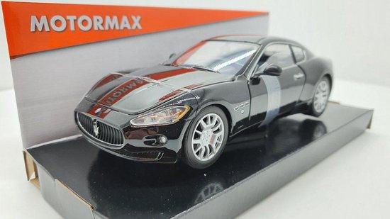 Maserati Gran Turismo zwart 1:24 MotorMax