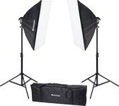 Bresser Fotostudioset - BR-2246B - Incl. 2 Softboxen & Lamphouders