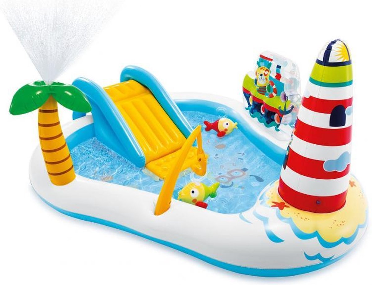 Intex Fishing Fun Play Center kinderzwembad 218 x 188 x 99 cm