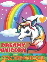 Dreamy Unicorn Coloring Book