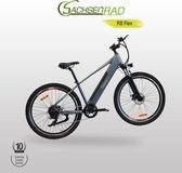 SachsenRad E-Racing Bike R8 Flex Bike-Hydrolic Disc Brake 27.5 Inch 250 watt, City Bike