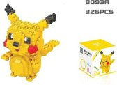 Pikachu Blokjes - Pokemon - 326 Stuks Pikachu - Mini Bouwstenen - 3D Puzzel - Nano block