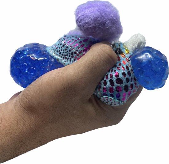 Thumbnail van een extra afbeelding van het spel Stressbal Orbeez - Stressbal kinderen - Stressbal knuffelbeer paars