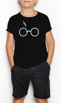 T-shirt | Harry Potter inspired | Bril | Maat 164 (14-15jaar)