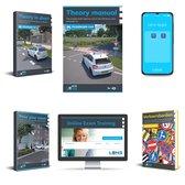 Boek cover Theory Book Car English Complete Package 2021 - Theorieboek Engels  Auto - License B Theory Learning Manual - Lens Meda van Lens Verkeersleermiddelen (Voordeeleditie)