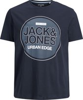 JACK&JONES PLUS JCOBOOSTER TEE SS CREW NECK DEC PS LTN Heren T-shirt - Maat 5XL