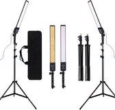 Mad Solutions -  Studiolampen   188 LED Light Photography Studio LED Lighting Kit Verstelbaar lamp met lichte Tripod  Statief   Foto Video Fill Light