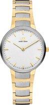 Danish Design Farø Horloge - Danish Design dames horloge - Zilver - diameter 32 mm - Titanium