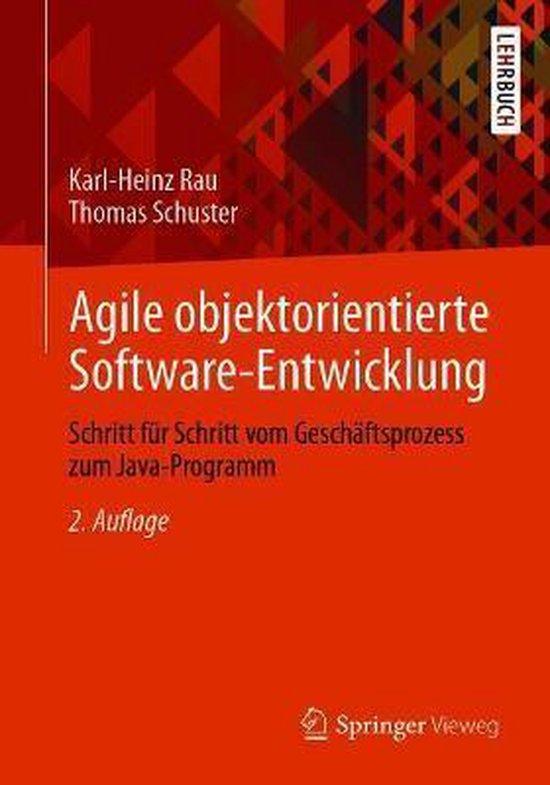 Boek cover Agile Objektorientierte Software-Entwicklung van Karl-heinz Rau (Paperback)