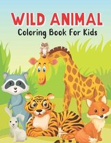 Wild Animal Coloring Book For Kids