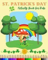 St Patrick's Day Activity Book for Kids
