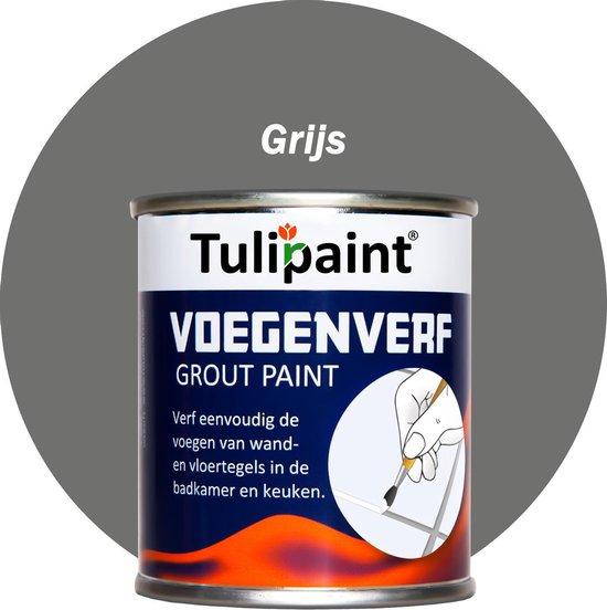 Bol Com Tulipaint Voegenverf Grijs Voegen Verf Voegen Verven Schilderen Voegenfris