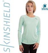 Vapor Apparel - UV-shirt met lange mouwen voor dames - groen