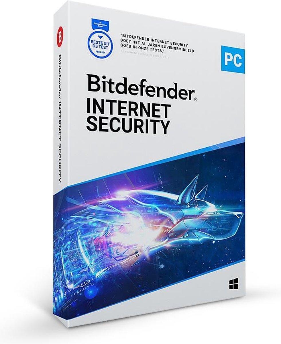 Bitdefender Internet Security 2021 - 5 Apparaten - 2 Jaar - Nederlands - Windows Download