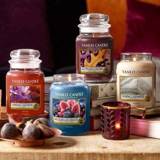 Yankee Candle Large Jar Geurkaars - Warm Cashmere