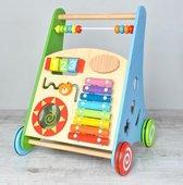 Educatieve houten loopwagen | baby | kleuter| kinderen | spelen speel | training