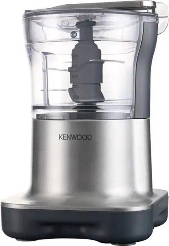 Kenwood CH250 Quad Blade Foodprocessor Mini-Hakker RVS/Zwart