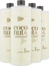 Etos Kokos & Almond handzeep navulling - 4 liter (4 x 1 liter)