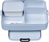 Mepal Lunchbox Take A Break - 22,5 X 17 X 6,5 cm - Lichtblauw