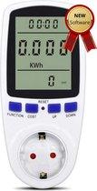 Energiemeter – Verbruiksmeter – Energiekostenmeter – KWh meter – Stroomverbruik meter – Elektriciteitsmeter – Energiekosten - Stopcontact – Meerdere functies