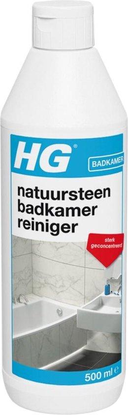 HG natuursteen badkamer reiniger - 500ml