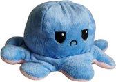 Octopus knuffel - Octopus mood knuffel - roze blauw