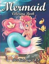 Mermaid Coloring Book for Kids Ages 4-8: mermaid books for girls 4-6 coloring books for girls ages 8-12 mermaid book coloring books for girls