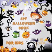 I Spy Halloween Book for Kids Ages 2-5