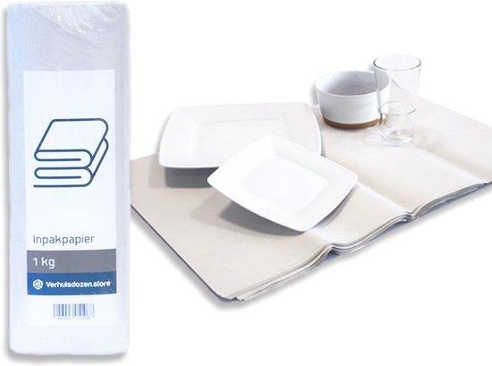 Afbeelding van Professioneel Inpakpapier 100 vellen - 40 x 60 cm - 1kg - Verhuispapier - Beschermpapier - Extra stevig - Verhuizen - Opslag