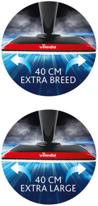 Vileda Steam XXL Power Pad - Stoomreiniger