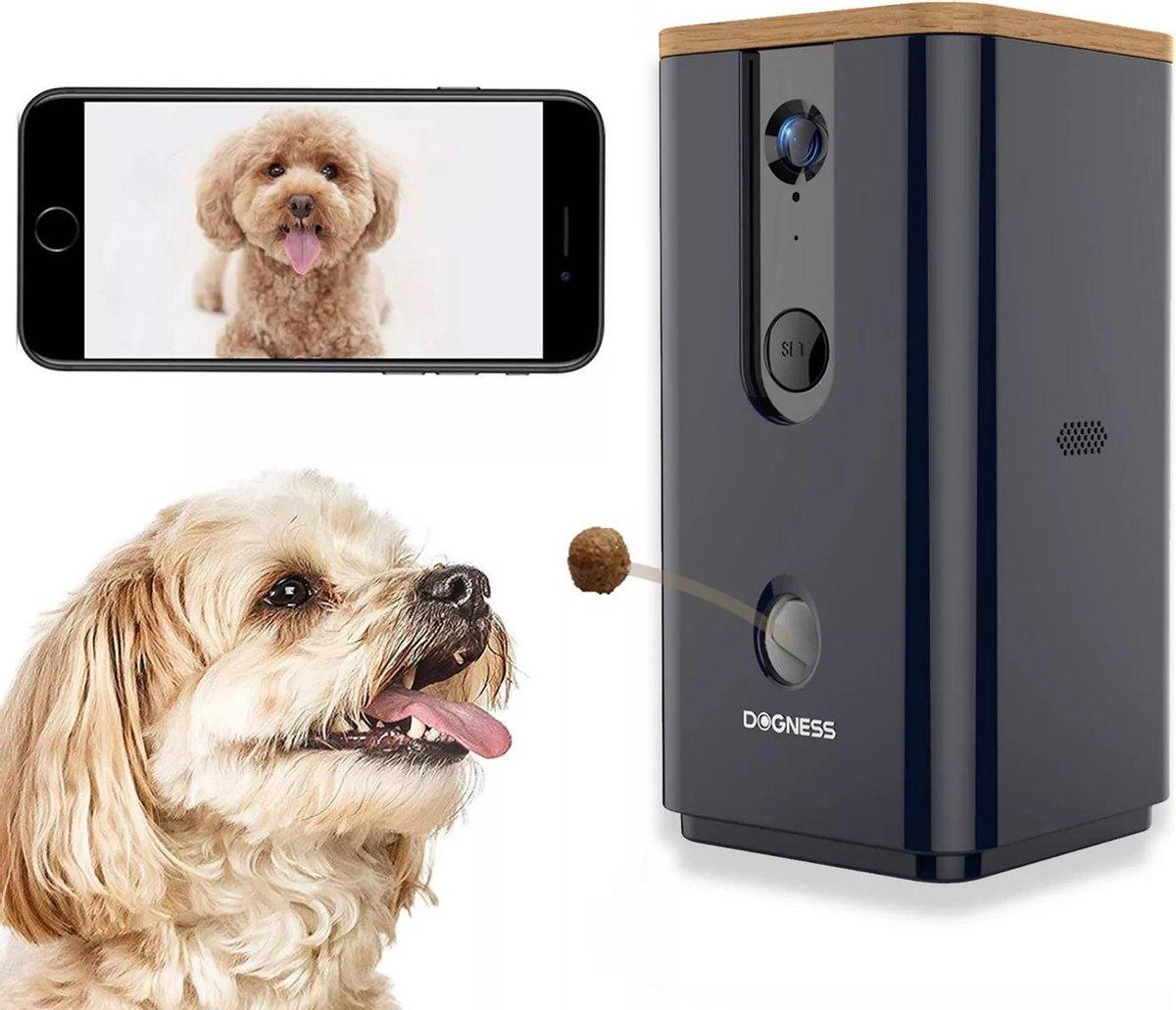 Dogness   Interactief voerautomaat snackuitgave / treat dispenser voor honden en katten 165  night v