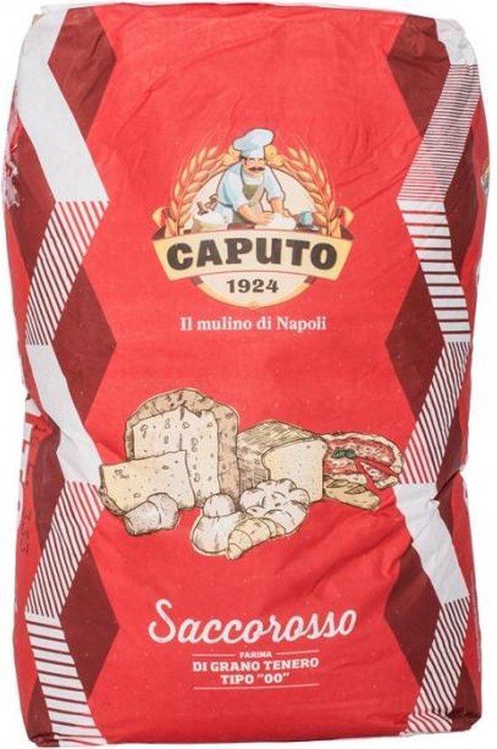 Caputo Bloem Saccorosso (Cuoco) Rood 25kg
