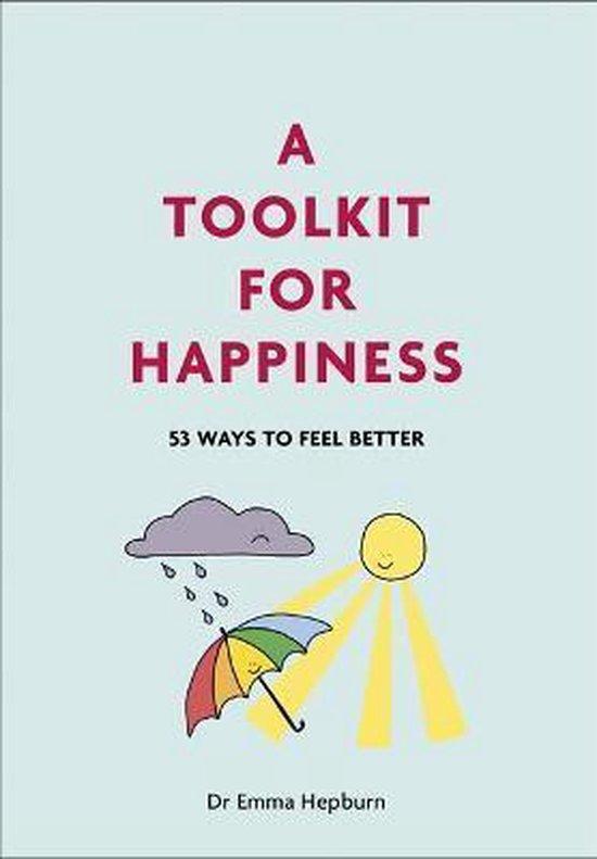 Boek cover A Toolkit for Happiness van Dr Emma Hepburn (Hardcover)