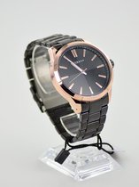 Horloge casual Curren rose black  + extra batterij + doosje