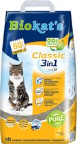 Biokat's Classic 3 In 1 - Kattenbakvulling -18 L